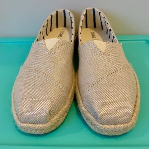 Toms Shoes | Toms Pearlized Metallic